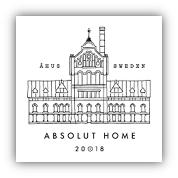 Absolut Home stamp