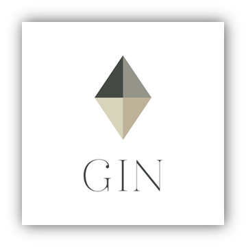 GIN stamp