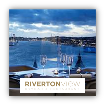 Riverton View stamp