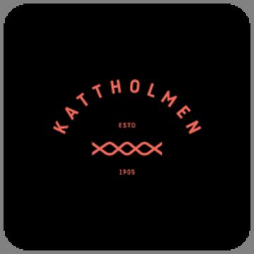 Kattholmen stamp